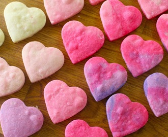 Ombre Heart Shortbread Cookies ~ Recipe