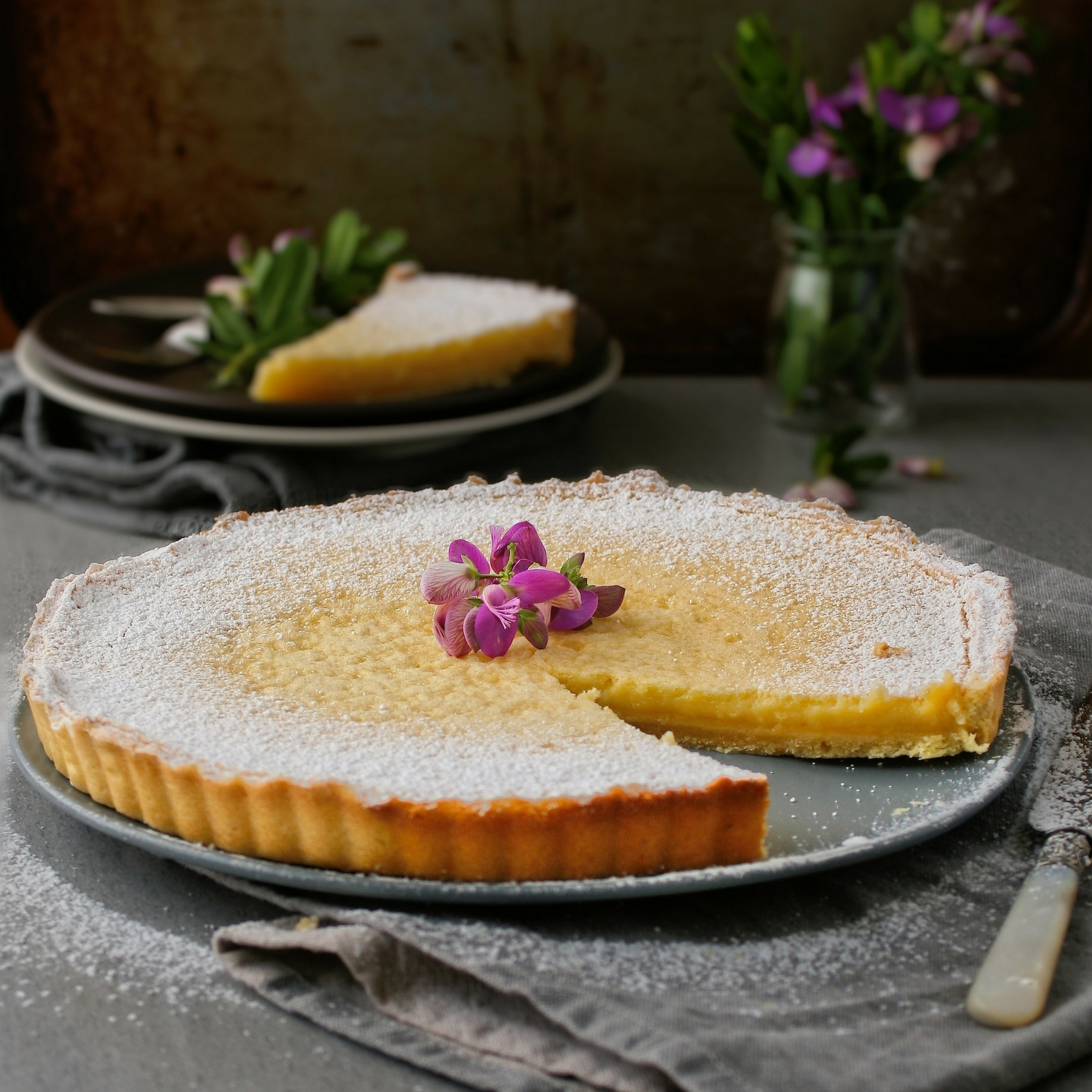 cupcakes-and-couscous wrote a new post, Lemon tart, on the site Cupcakes & Couscous