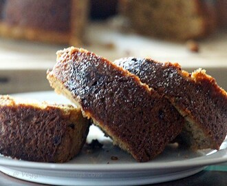 Banana Bundt Bread – Eggless , Whole Wheat and Delicious !