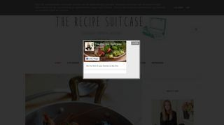 The Recipe Suitcase