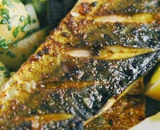 Spiced mackerel fillets with potato salad | Recipe | Mackerel fillet recipes, Mackerel recipes, Fish recipes
