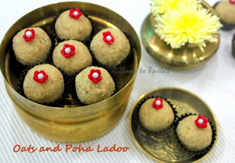 Oats and Poha Ladoos