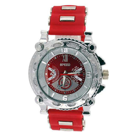 Klocka | Speed Exclusive Red and Platinum Watch