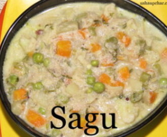 Sagu I mixed vegetable sabzi recipe
