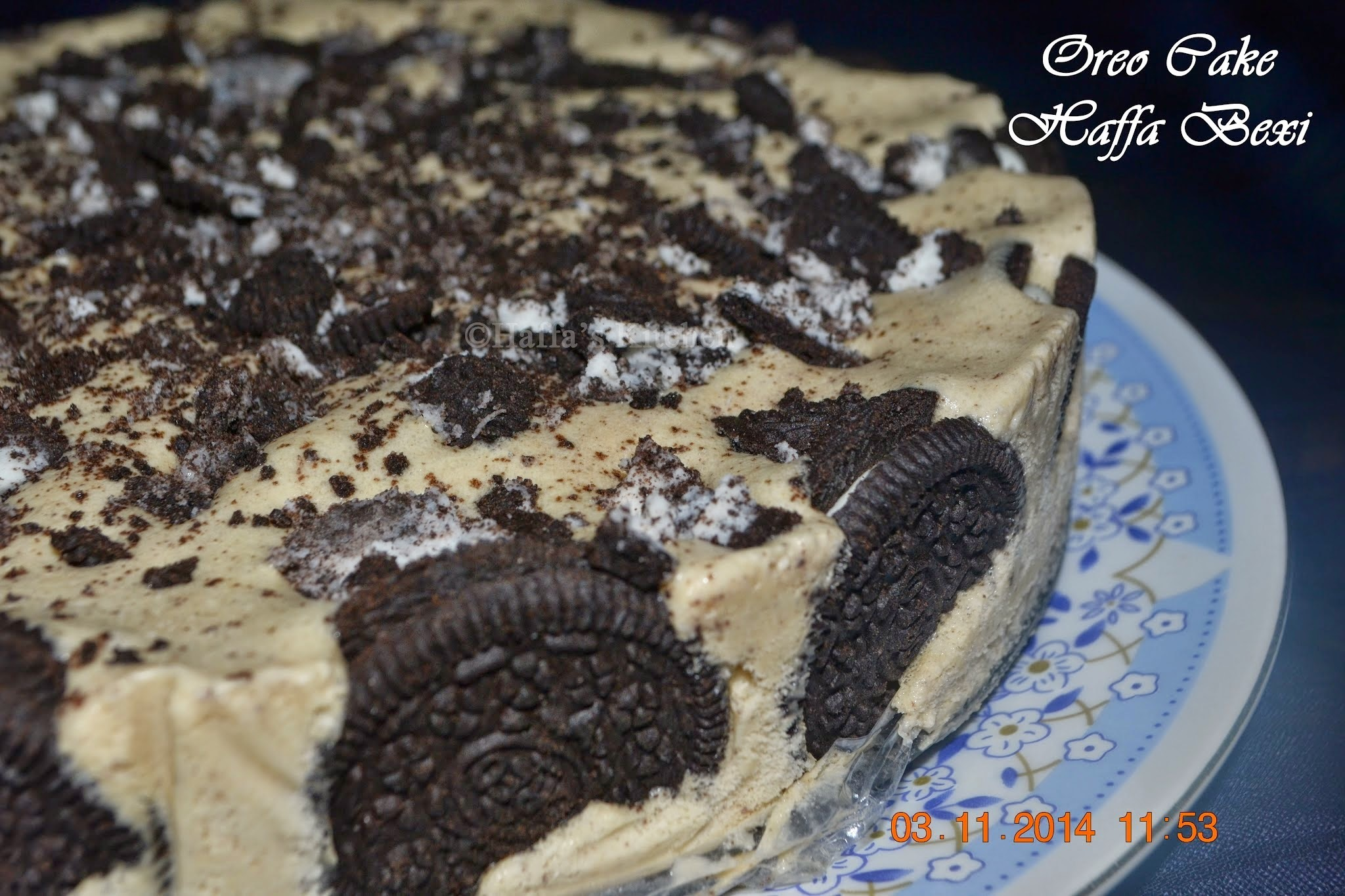 Oreo Ice cream Cake - Wedding Anniversary Special