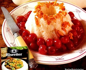 Rice Pudding With Cherries / Rispudding Med Kirsebær