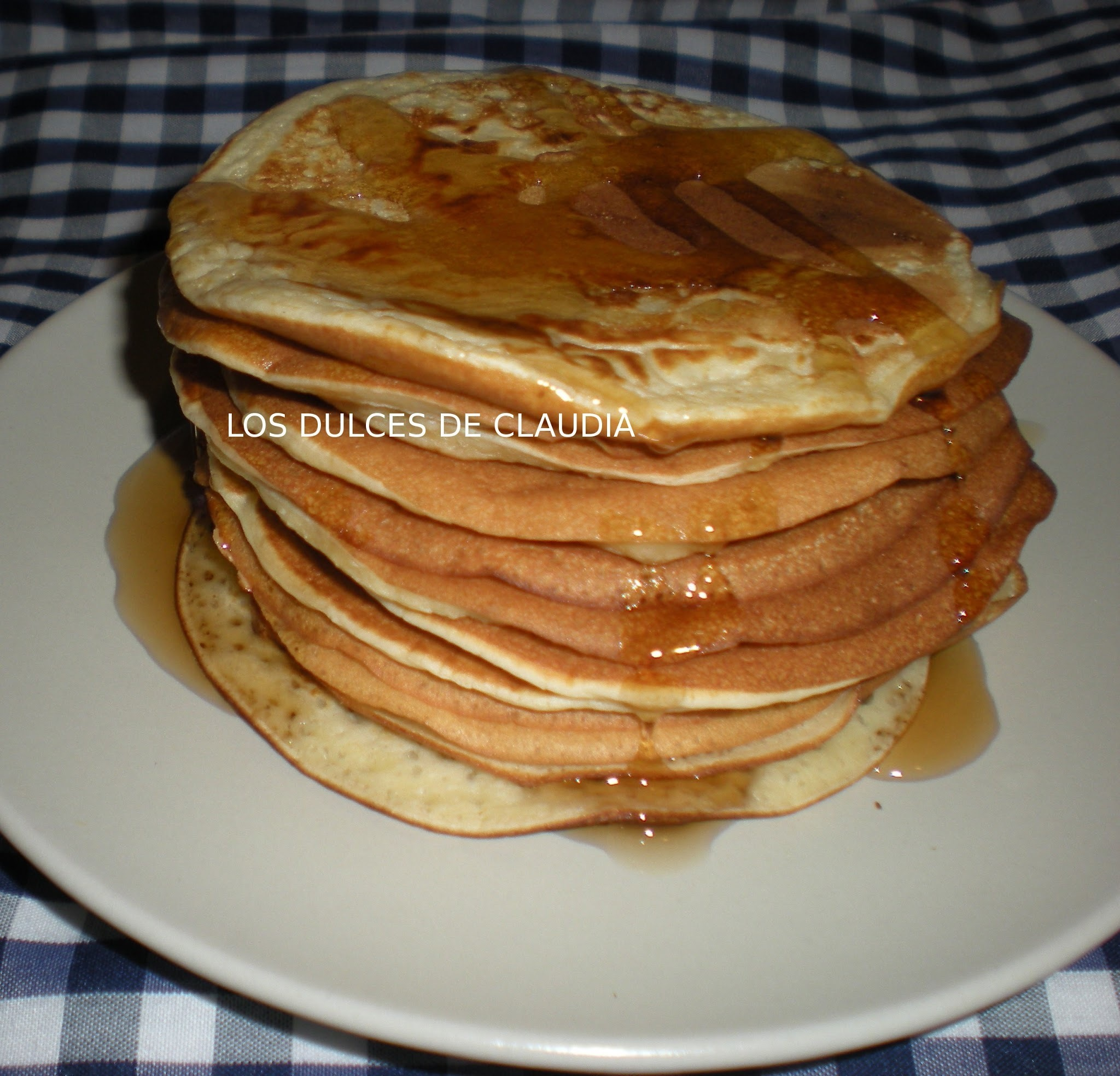 Panqueques o pancakes