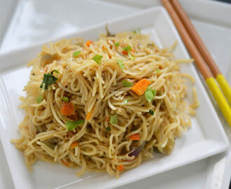 Garlic Noodles | Garlic Noodles Recipe | Indo Chinese Recipes
