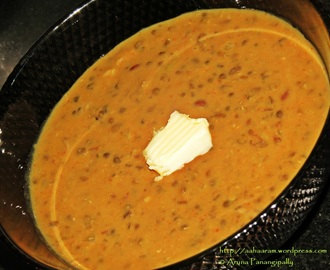 Dal Makhani – Adapted from the Moti Mahal Recipe