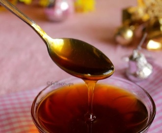 How to make Caramel for Fruit Cakes