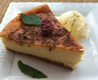 Tarta De Queso Neoyorquina Genuina (New York Cheesecake)