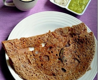 INSTANT MILLET DOSA USING ENERGY MIX POWDER/SATHU MAAVU DOSA RECIPE