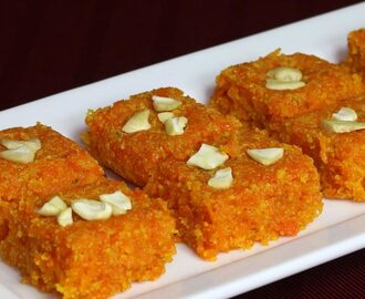 Manjula's Kitchen Carrot Burfi (Gajar Ki Burfi) Post navigation