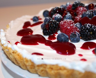 Tarte gulosa de Frutos do Bosque | Greedy Fruits of the Forest Pie