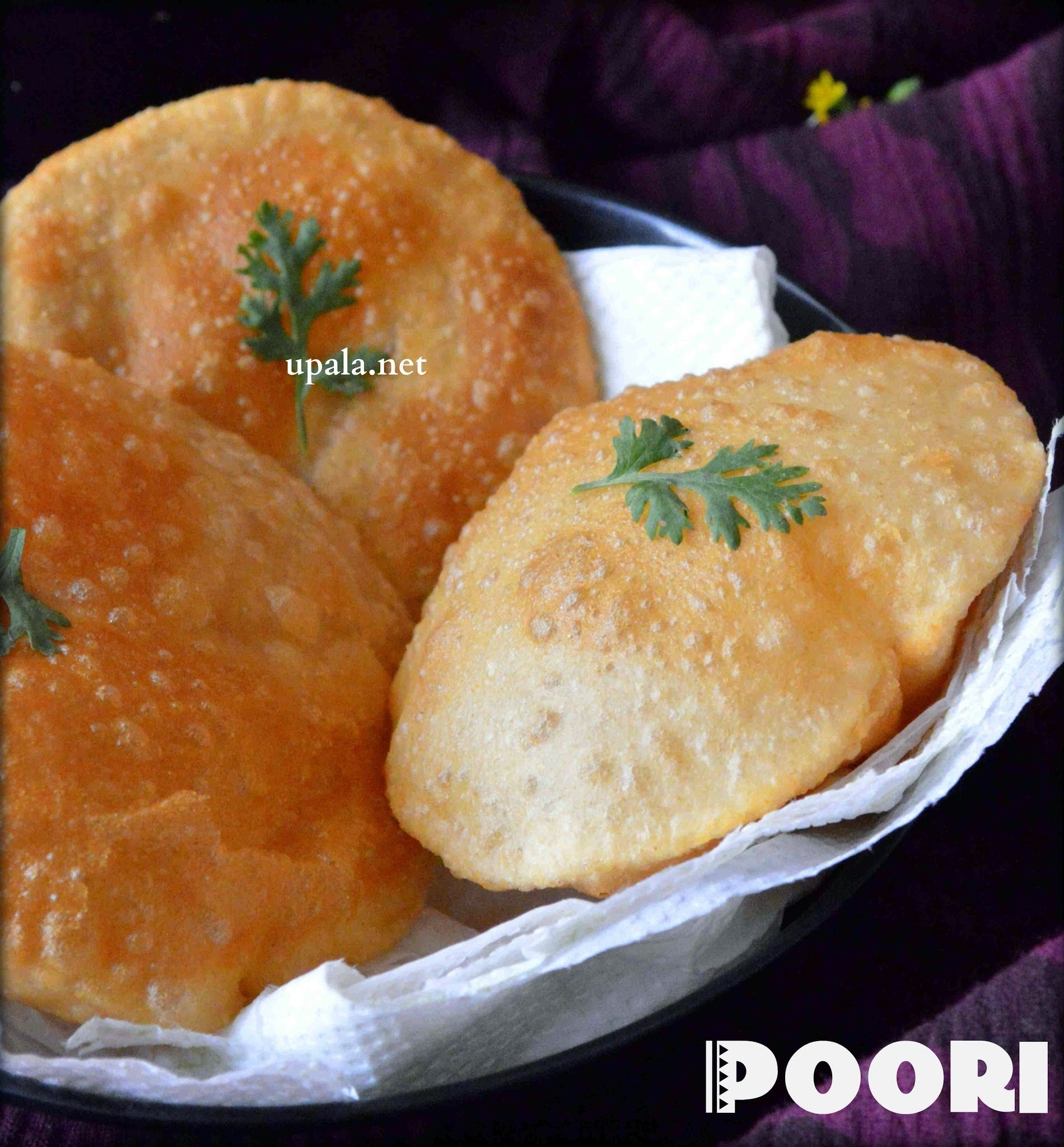 Poori (easy method)