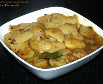 Valachi Dalimbi or Valachi Usal (Curry with Field Beans)