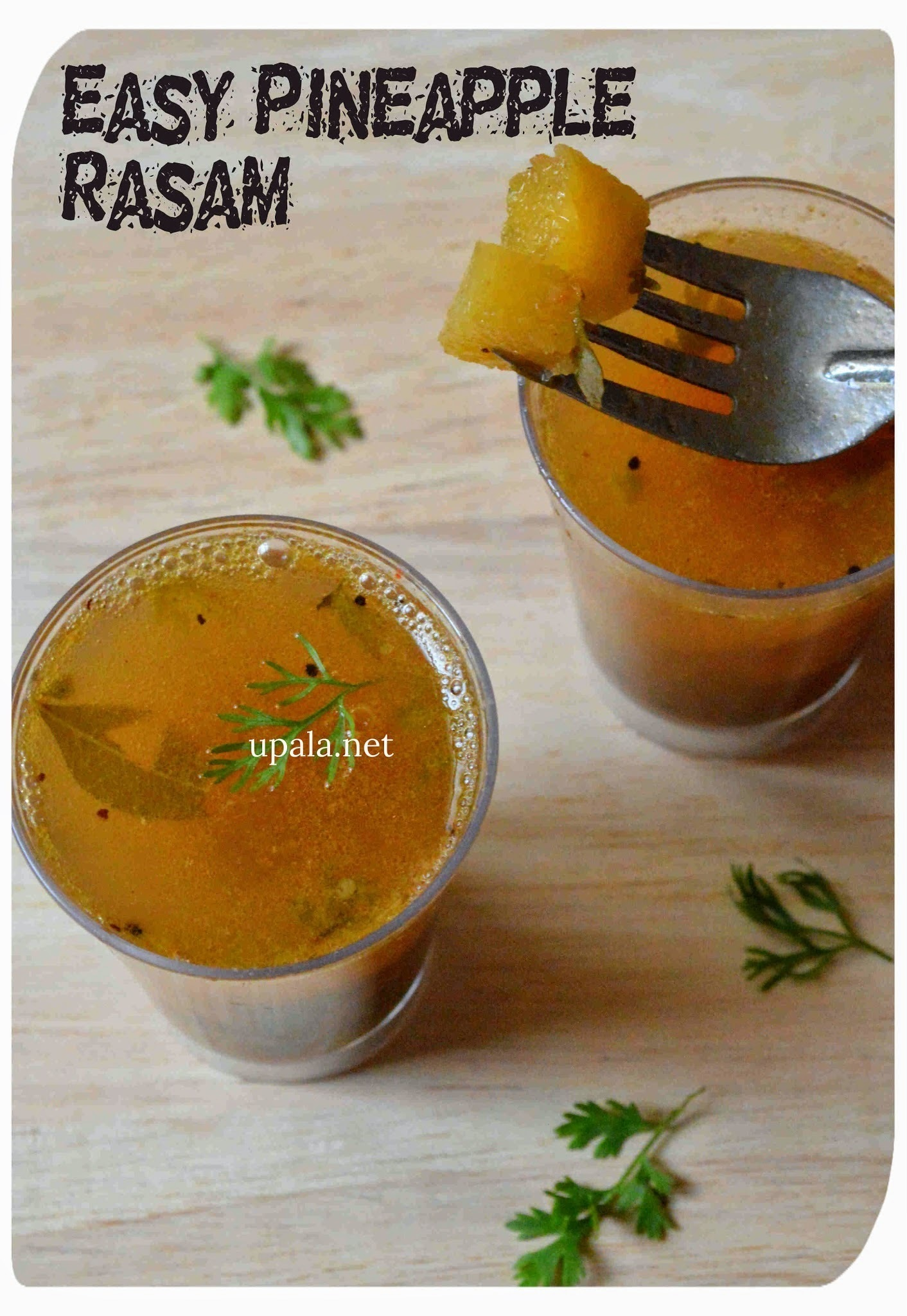 Easy Pineapple Rasam