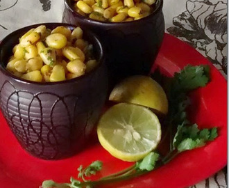 Sweet corn chaat| Chaat recipes
