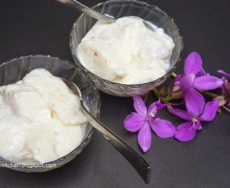 Tender Coconut Pudding/Elaneer Pudding