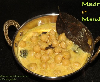 Madra or Mandra – Chickpeas in Yogurt Sauce – Kangra Valley Dham Recipe
