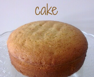 ♥ Hot milk cake de la Miette Bakery