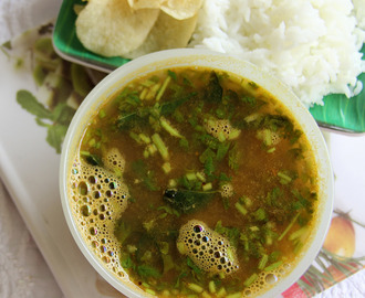 Ginger Rasam - ginger soup - No onion and garlic rasam - Healthy soup - Simple dish for rice