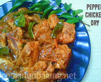 Pepper Chicken Dry | How to make Pepper Chicken Dry
