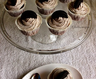 Oreo Cupcakes | Cookies and Cream Cupcakes