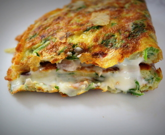 Spinach Cheese Omelette