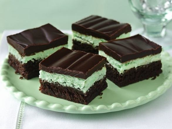 Brownies de Menta