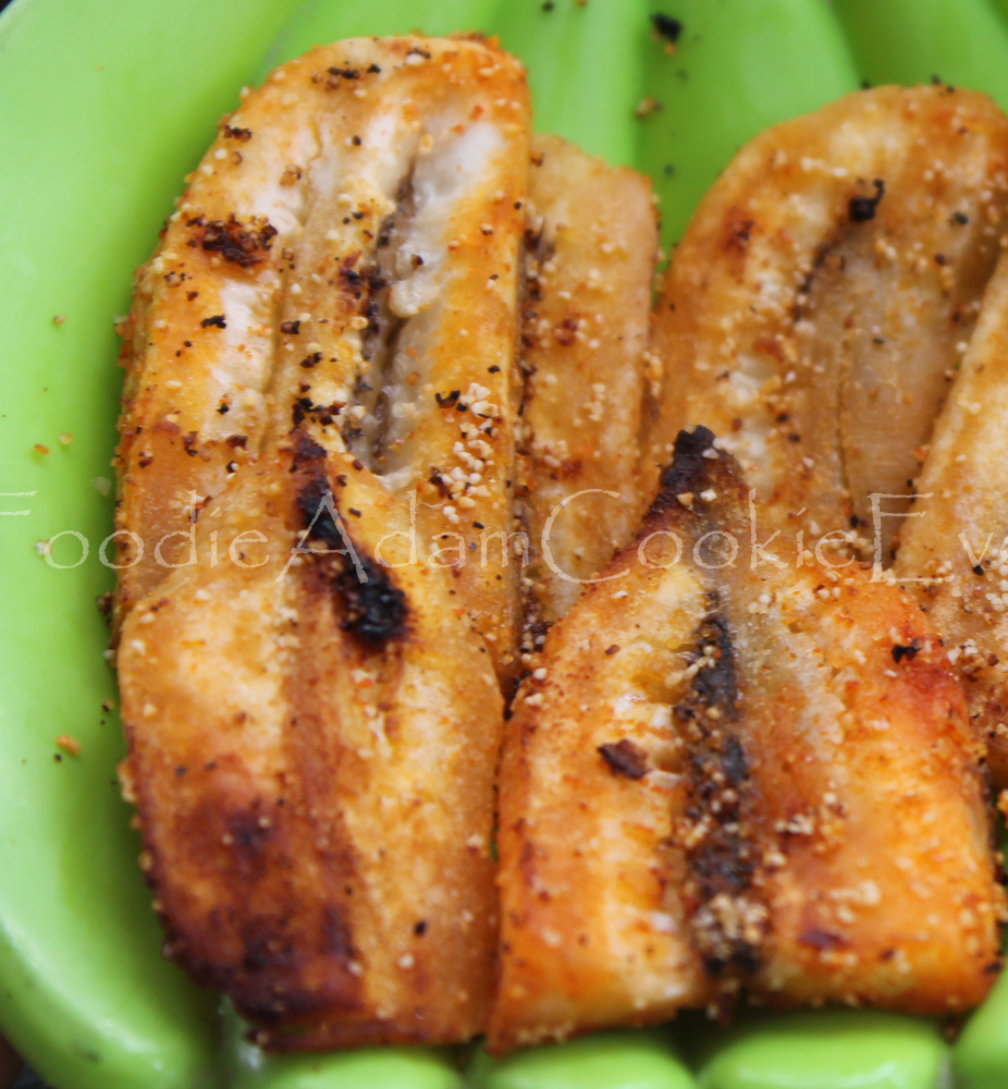 Raw Banana Roast or Vazhakkai Fry