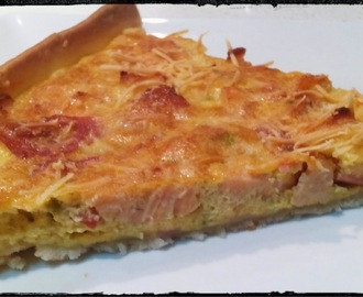 Quiche de Pollo y Beicon