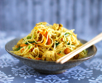 Curried Chicken Noodles