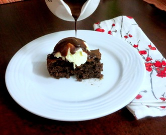 How to make Eggless Chocolate Brownie ~ Step by Step Pictures