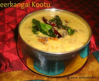 Peerkangai Kootu Recipe / Ridge Gourd Kootu Recipe