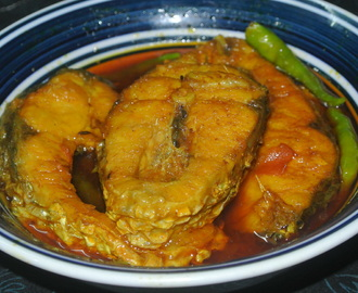 Fish Gravy Recipe For All Occasions/Rohu Fish Recipe.