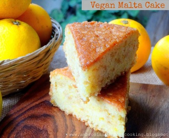 Vegan Malta Cake and Vegan Orange Cake