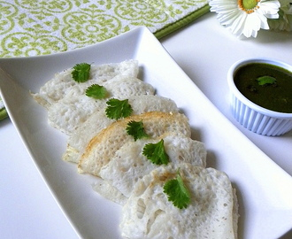 Neer Dose/Neer Dosa (No fermentation required)