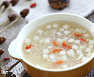 Water Chestnut Sweet Soup 马蹄(荸荠)羹