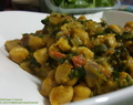 Chickpea Baby Spinach curry.