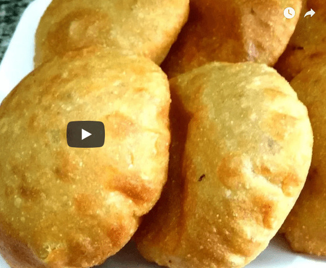 Aloo Kachori Recipe Video