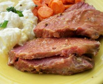 Luby's Cafeteria Baked Corned Beef Brisket W/ Sour Cream New Pot