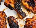 Bourbon-Chile Barbecue Grilled Chicken