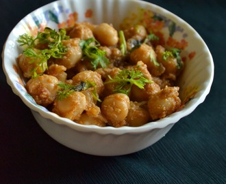 chana masala recipe - easy sides for rotis