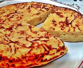 Tortilla de pan con queso
