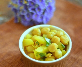 No onion no garlic chole recipe - channa masala recipe