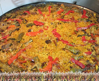 Paella familiar
