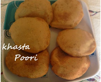 Khasta Poori Recipe, How to make Khasta Poori, Poori Recipe