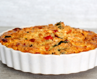 Spinazie Feta Quiche!