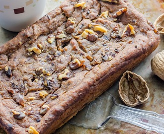 Whole Wheat Banana Walnut Bread